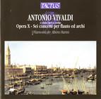 Vivaldi: Opera X - Sei concerti per flauto ed archi