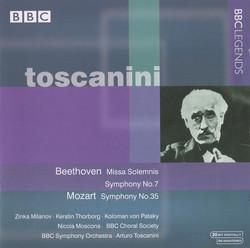 Toscanini - Cherubini, Mozart, Beethoven (1935, 1939)