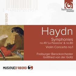 Haydn: Symphonies No. 49 & No. 80, Violin Concerto No. 1