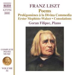 Liszt: Poems