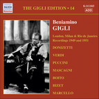 Gigli, Beniamino: Gigli Edition, Vol. 14: London, Milan and Rio De Janeiro Recordings (1949, 1951)