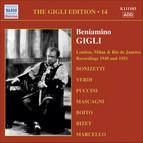 Gigli, Beniamino: Gigli Edition, Vol. 14: London, Milan and Rio De Janeiro Recordings (1949, 1951)