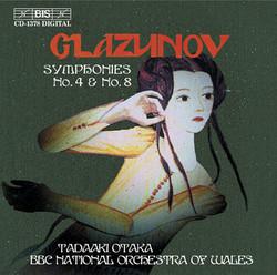Glazunov - Symphonies No.4 & No.8