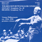 Wilhelm Furtwangler Conducts Mozart & Brahms