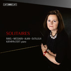 Solitaires – French works for solo piano