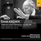 Krenek: Complete Piano Concertos, Vol. 1