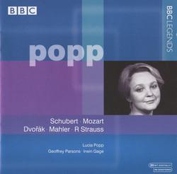 Popp - Schubert, Mozart, Dvorak, Mahler, R. Strauss (1982, 1991)