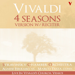 Vivaldi: 4 Seasons, Op. 8 (Version with Reciter) [Live]