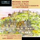 Michael Haydn - Sacred Choral Music