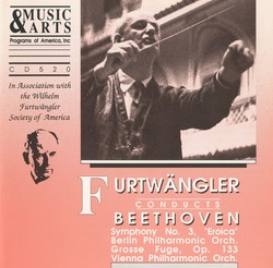 Beethoven: Symphony No. 3, Op. 55 & Grosse Fuge, Op. 133