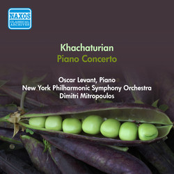 Khachaturian, A.I.: Piano Concerto (Levant, New York Philharmonic Symphony, Mitropoulos) (1950)