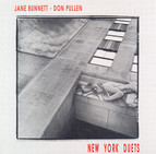 Bunnett, Jane: New York Duets