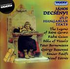 Decsenyi: Regi Magyar Svovegek (Old Hungarian Texts)