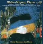 Piano Music - Weber, C.M. Von / Liszt, F. / Mozart, W.A. / Chopin, F. (Welte-Mignon Piano at Hotel Waldhaus Sils Maria, Vol. 1)