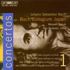 J.S. Bach - Concertos, Vol.1 (BWV 1041, 1042, 1043, 1060)