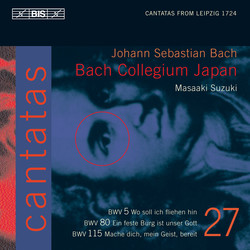 J.S. Bach - Cantatas Vol. 27 (BWV 5, 80 and 115)