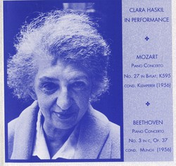 Clara Haskil in Performance