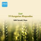 Liszt, F.: 19 Hungarian Rhapsodies, S244/R106 (Excerpts) (Farnadi) (1953)