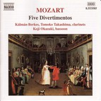 Mozart: 5 Divertimentos, K. Anh. 229