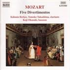 Mozart: 5 Divertimentos, K. Anh. 229