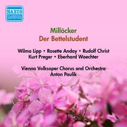 Millocker, K.: Bettelstudent (Der) (Lipp, Christ, Vienna Volksoper, Paulik) (1955)
