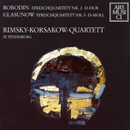 Borodin: String Quartet No. 2 - Glazunov: String Quartet No. 5