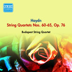 Haydn, J.: String Quartets Nos. 60-65, Op. 76 (Budapest String Quartet) (1954)