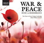 War and Peace - Music for Remembrance