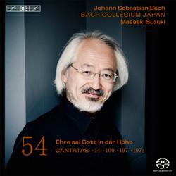 J.S. Bach - Cantatas, Vol.54