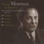 Pierre Monteux in Boston - Previously Unissed Performances, 1953-1957