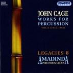 Cage: Works for percussion, Vol. 6 (1975-1991)