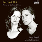Rautavaara: Works for Cello & Piano