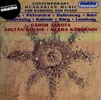 Bozay / Dubrovay / Vidovszky: Contemporary Hungarian Music for Bassoon and Piano