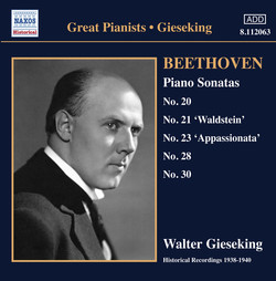 Beethoven: Piano Sonatas Nos. 20, 21, 23, 28 and 30