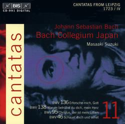 J.S. Bach - Cantatas, Vol.11 (BWV 136, 138, 95, 46)