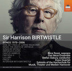 Birtwistle: Songs 1970-2006