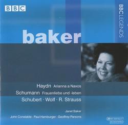 Baker - Haydn, Schumann, Schubert, Wolf, Strauss (1968, 1970)