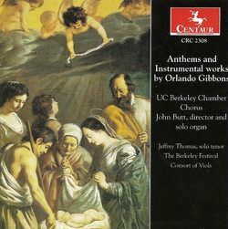Gibbons, O.: Anthems / Instrumental Music