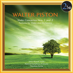 Piston: Violin Concertos Nos. 1 & 2 - Fantasia for Violin and Orchestra