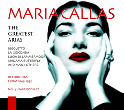 Maria Callas: The Greatest Arias, Vol. 1 (1945-1955)