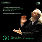 J.S. Bach - Cantatas, Vol.30, Solo Cantatas (BWV 51 and 1127)