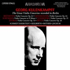 The Great Violin Concertos Recorded in Berlin