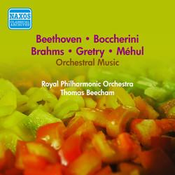 Orchestral Music - Mehul, E.-N. / Gretry, A.-E.-M. / Boccherini, L. / Beethoven, L. / Brahms, J. (Beecham) (1953)