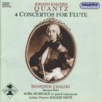 Quantz: 4 Flute Concertos