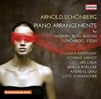 Schoenberg: Piano Arrangements