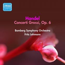 Handel: Concerti Grossi, Op. 6 (1952)