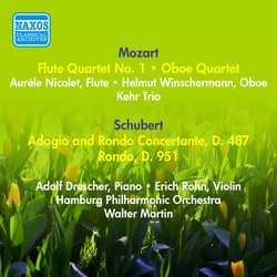 Mozart, W.A.: Flute Quartet No. 1 / Oboe Quartet in F Major / Schubert, F.: Adagio and Rondo Concertante, D. 487 / Rondo, D. 951 (1957)