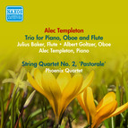 Templeton, A.: Trio for Piano, Oboe and Flute / String Quartet No. 2,
