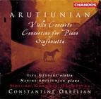 Arutiunian: Violin Concerto / Concertino for Piano / Sinfonietta