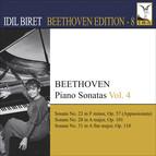 Beethoven, L. Van: Piano Sonatas, Vol. 4 (Biret) - Nos. 23, 28, 31
